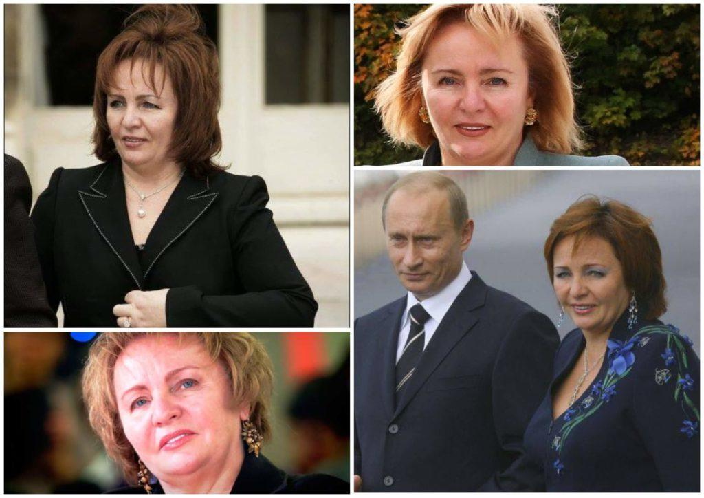 На фото изображена Людмила Путина с бывшим супругом и одна.