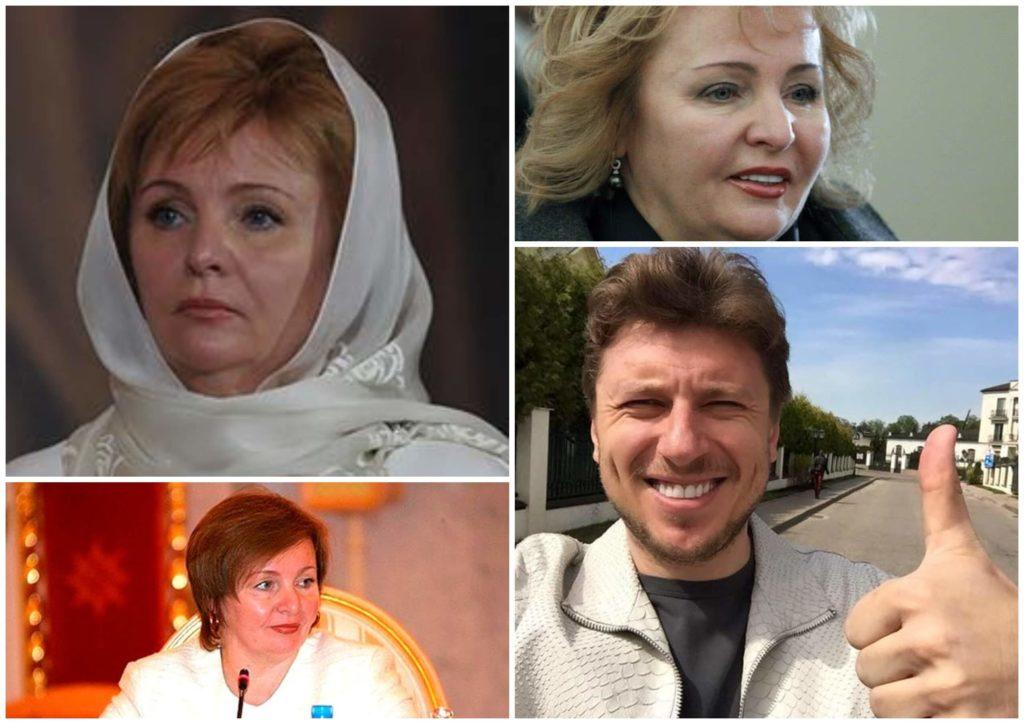 На фото изображены Людмила Путина и Артур Очеретный.