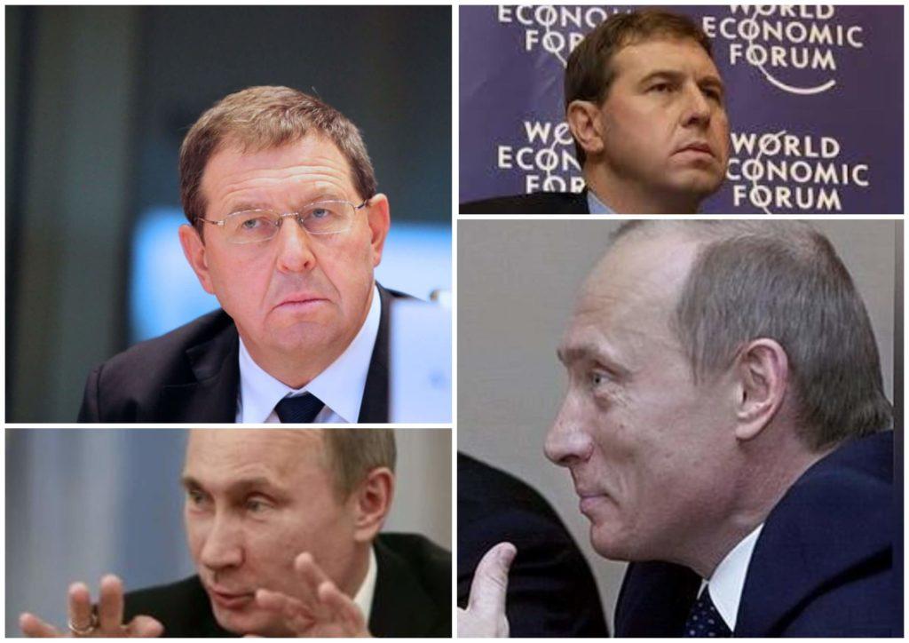 На фото изображен Андрей Илларионов и президент РФ.