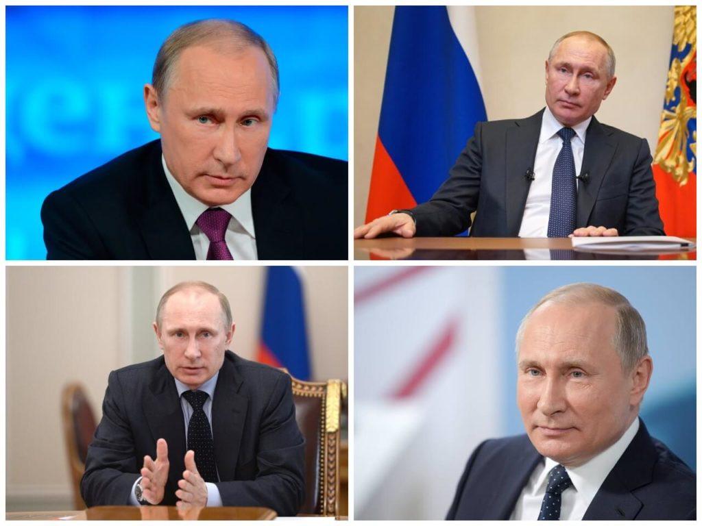 На фото президент Владимир Путин (часть 2).