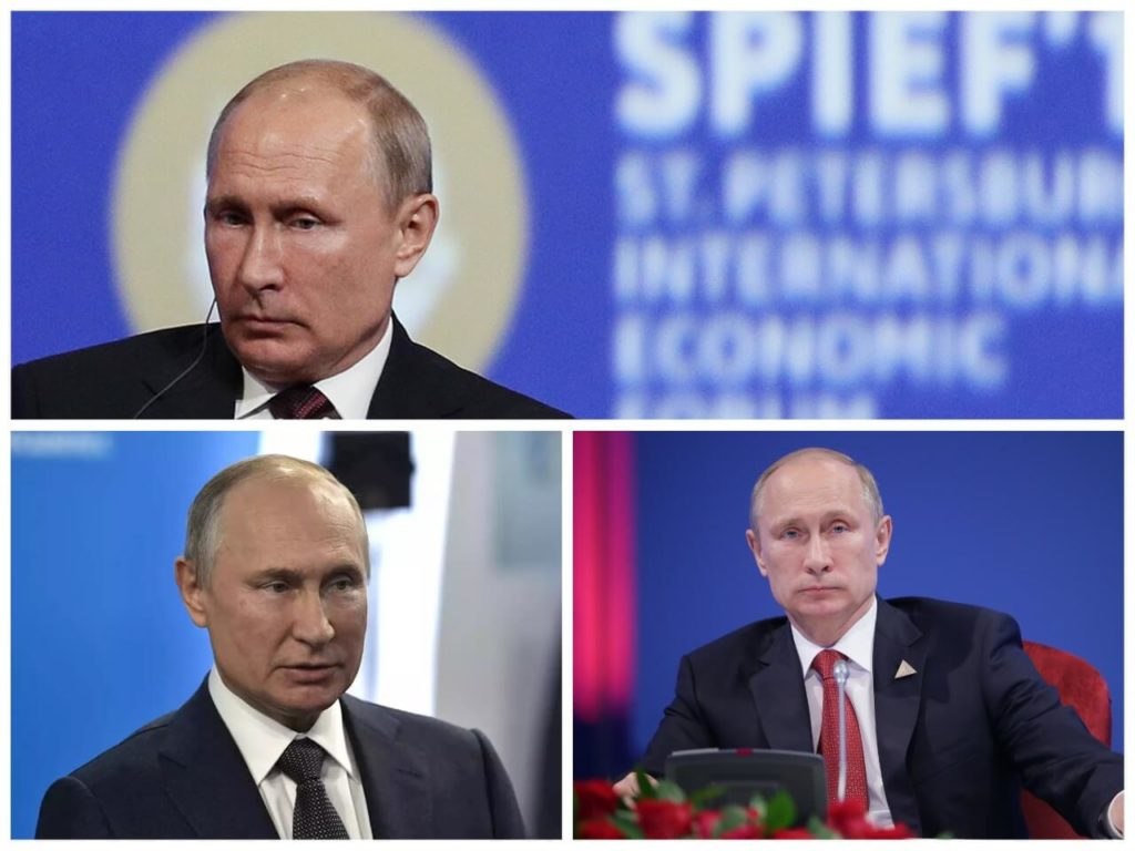 На фото президент Владимир Путин (часть 1).