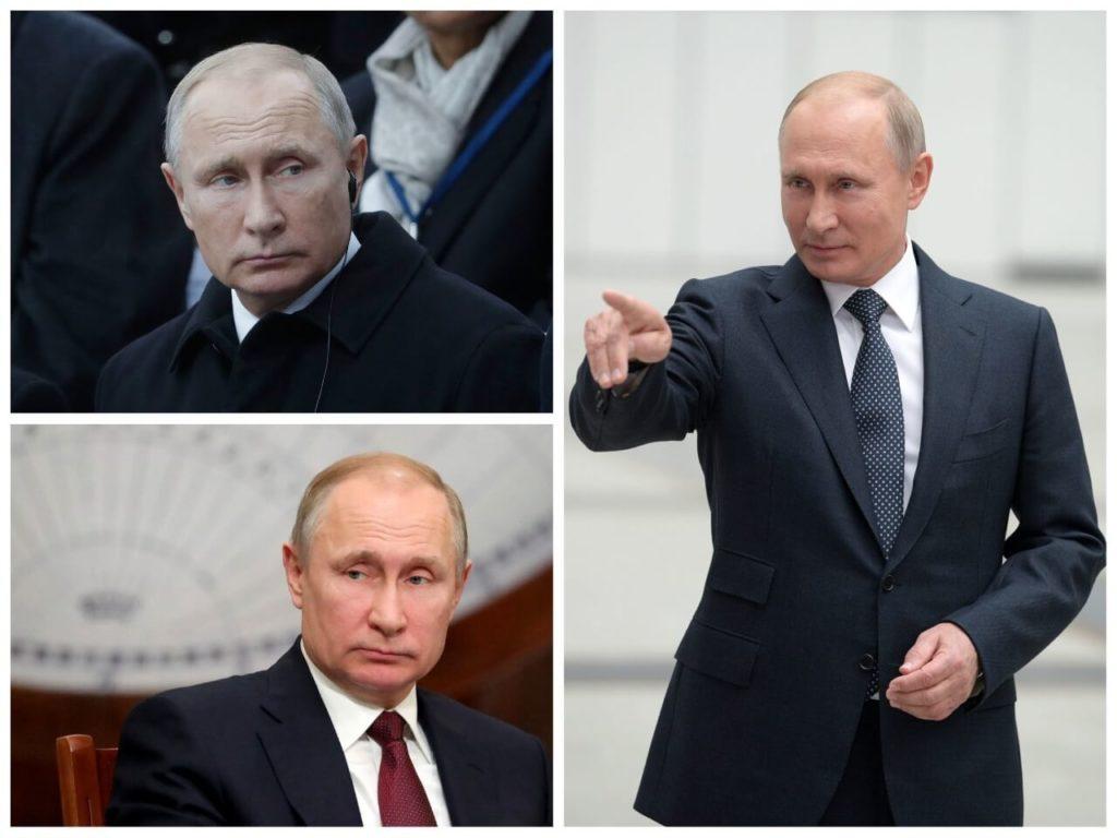 На фото президент Владимир Путин (часть 3).
