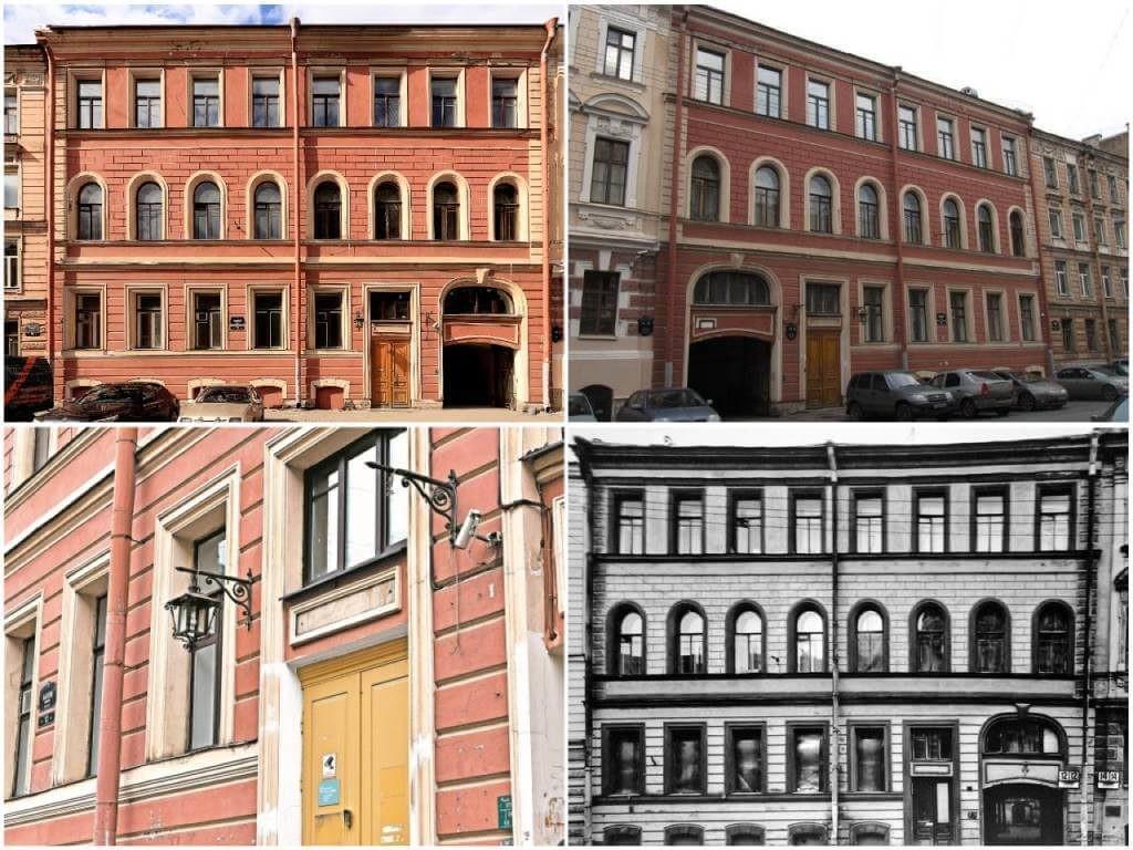 На фото здание дома президента Путина (фото снаружи).