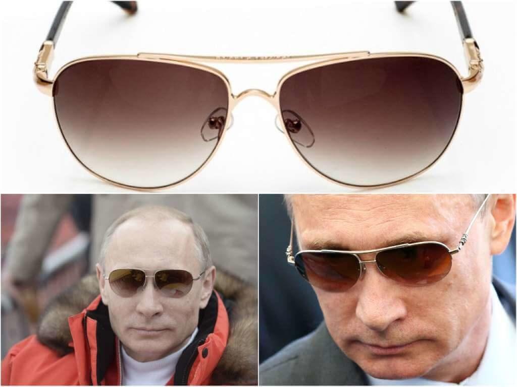 На фото Путин в очках бренда Chrome Hearts.