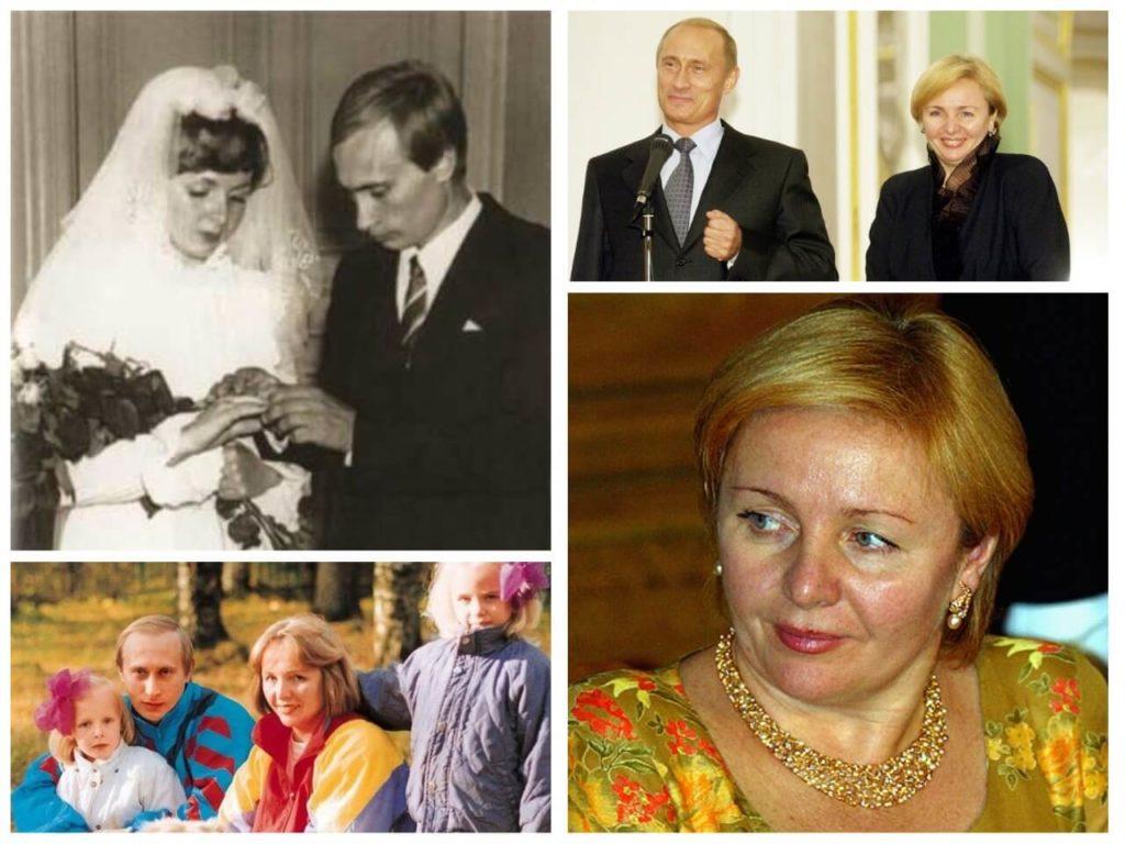 На фото семья Путиных.