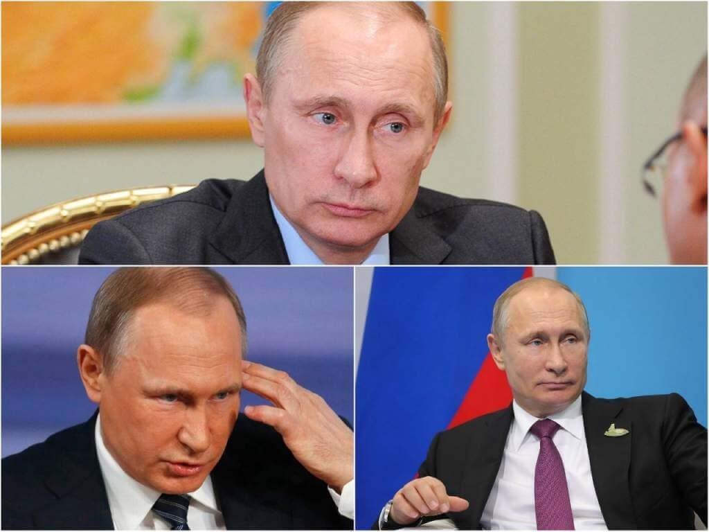 На фото Владимир Путин (часть 3).