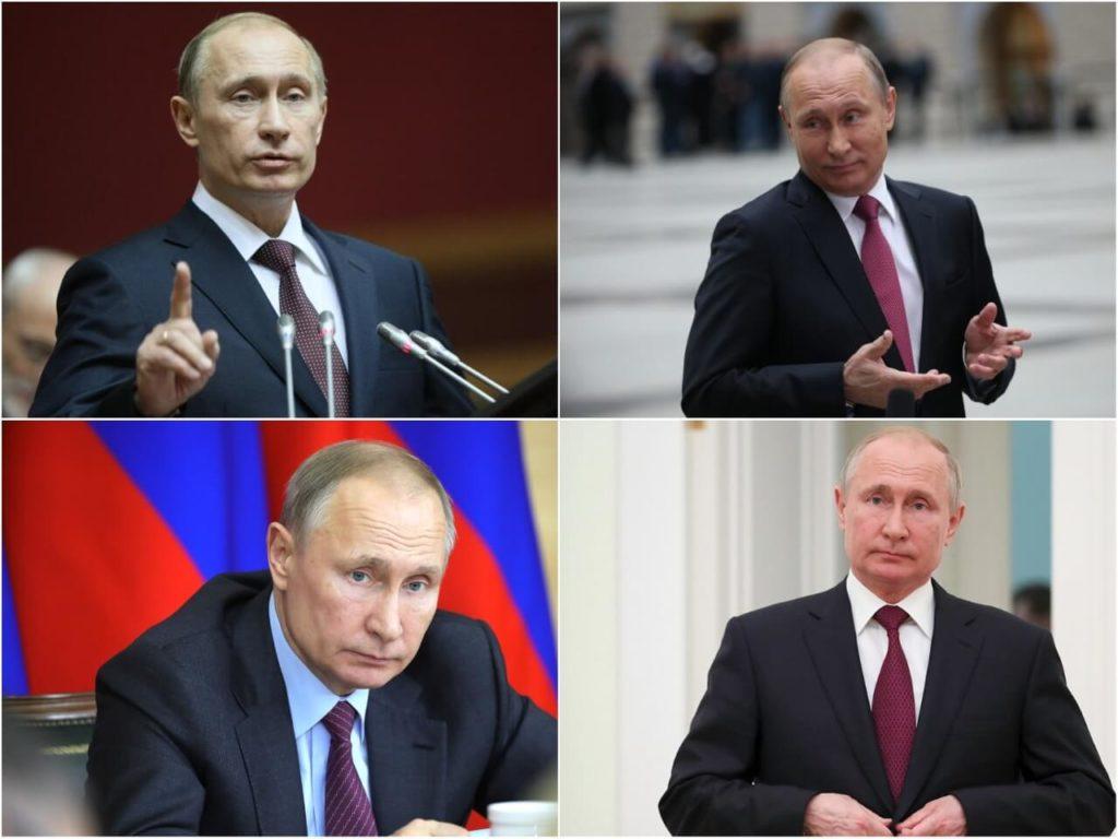 На фото Владимир Путин (часть 1).
