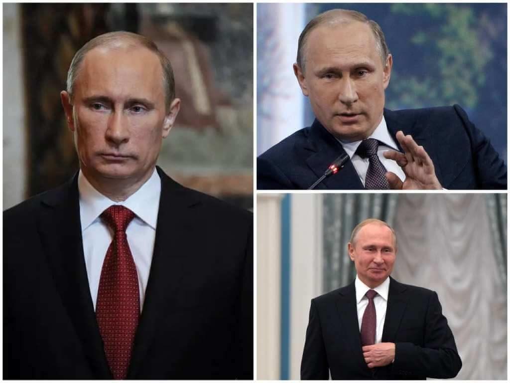 На фото президент РФ Владимир Путин.