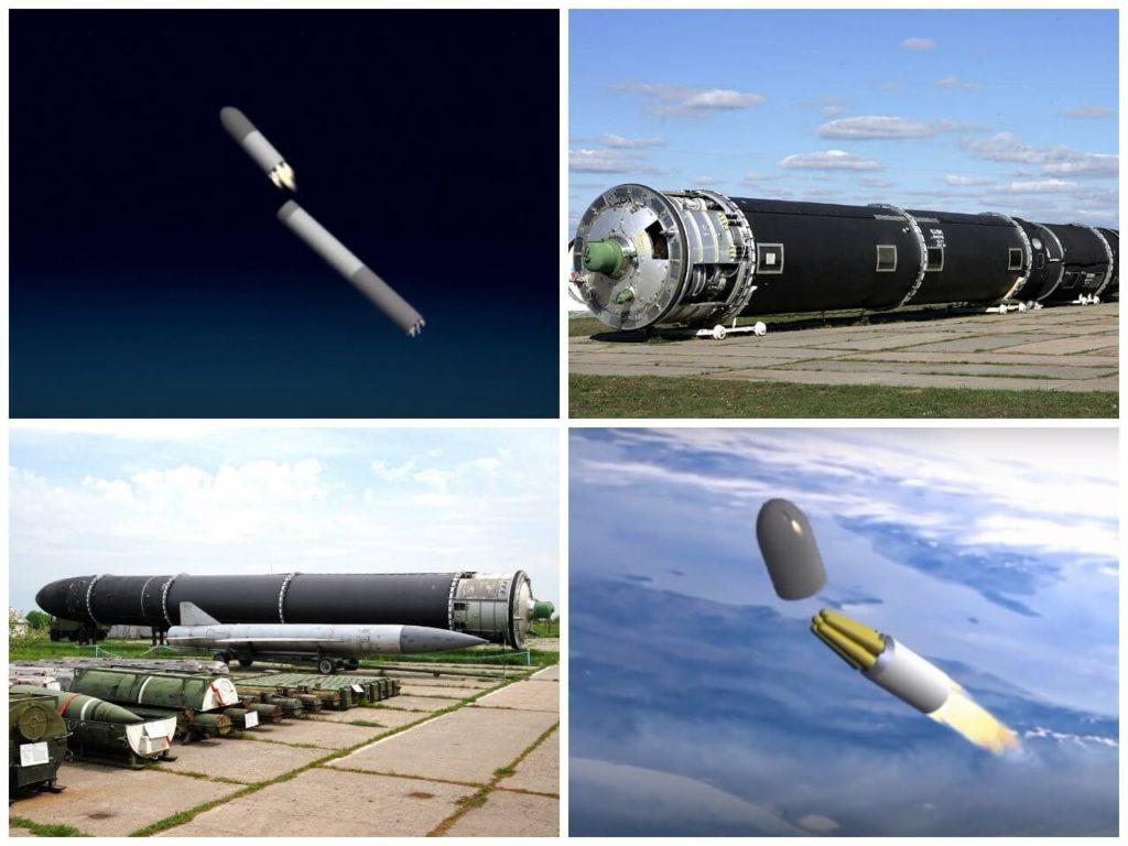 """На фото ракета """"Сармат""""."""