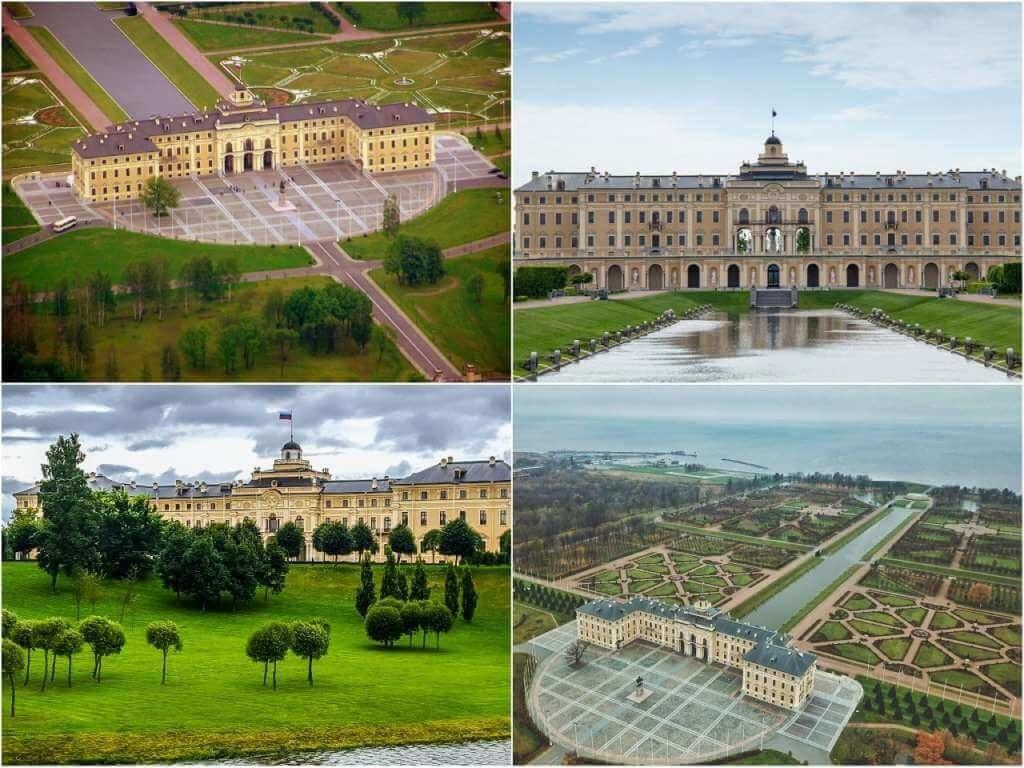 На фото Константиновский дворец в Стрельне.