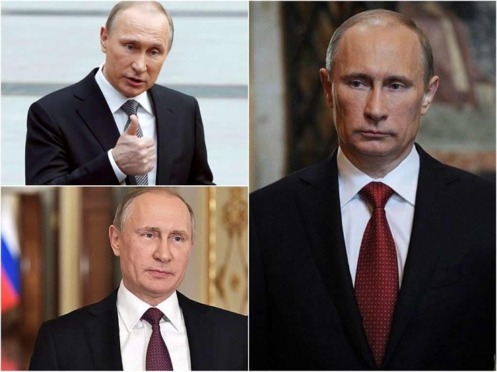 На фото президент РФ Владимир Владимирович Путин.