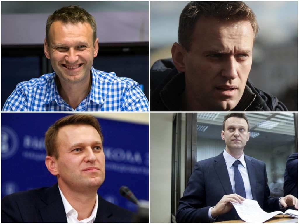 На фото Алексей Навальный (часть 2).