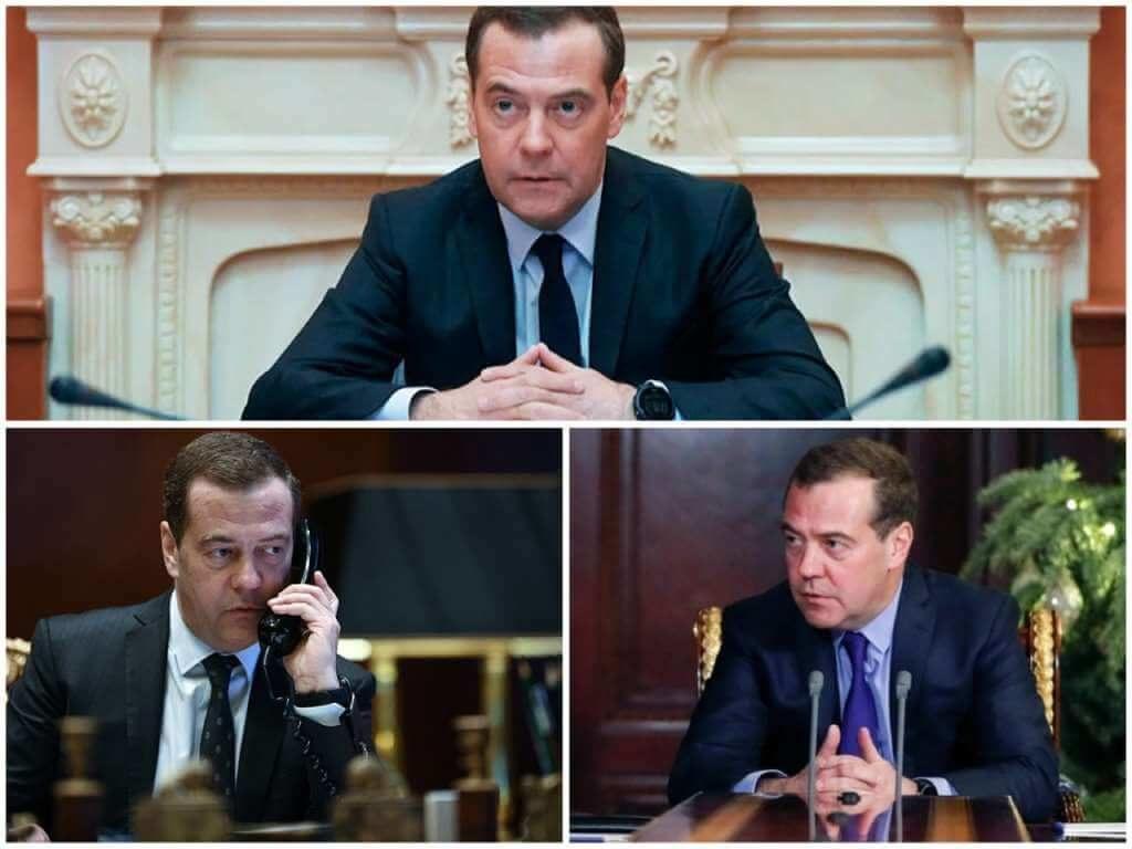На фото Дмитрий Медведев (часть 1).