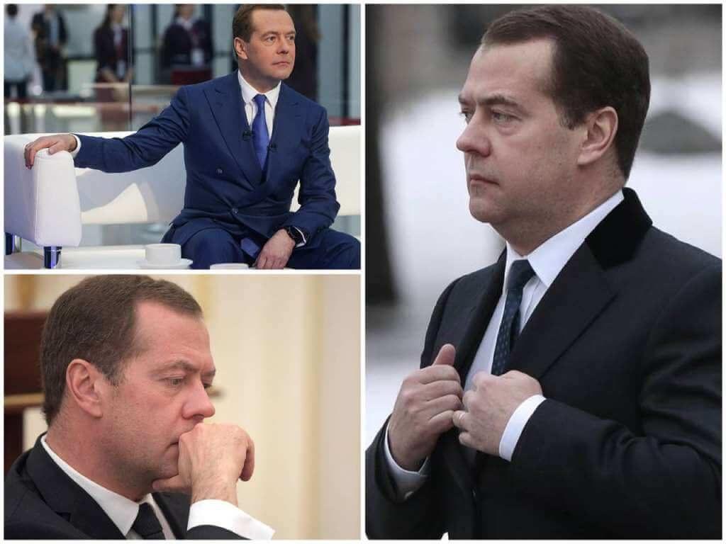 На фото Дмитрий Медведев (часть 3).