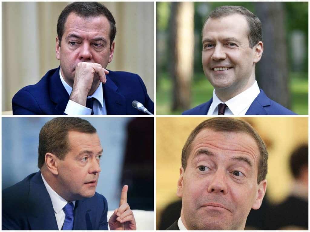 На фото Дмитрий Медведев (часть 2).