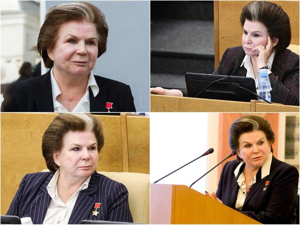 На фото депутат Валентина Терешкова.
