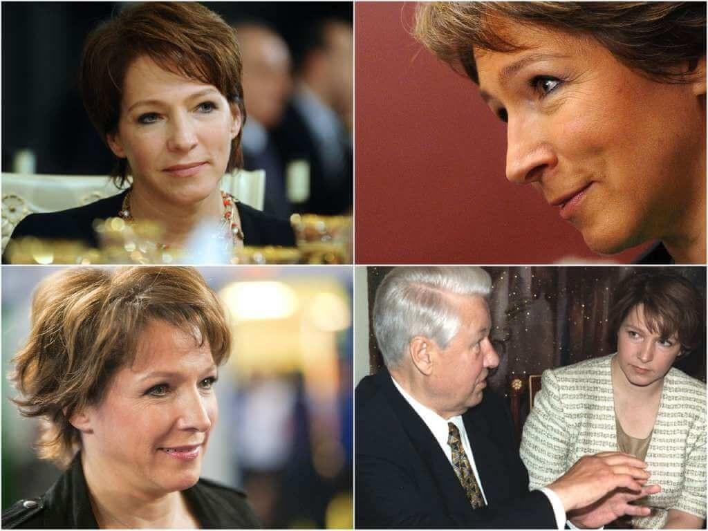 На фото дочь Бориса Ельцина.