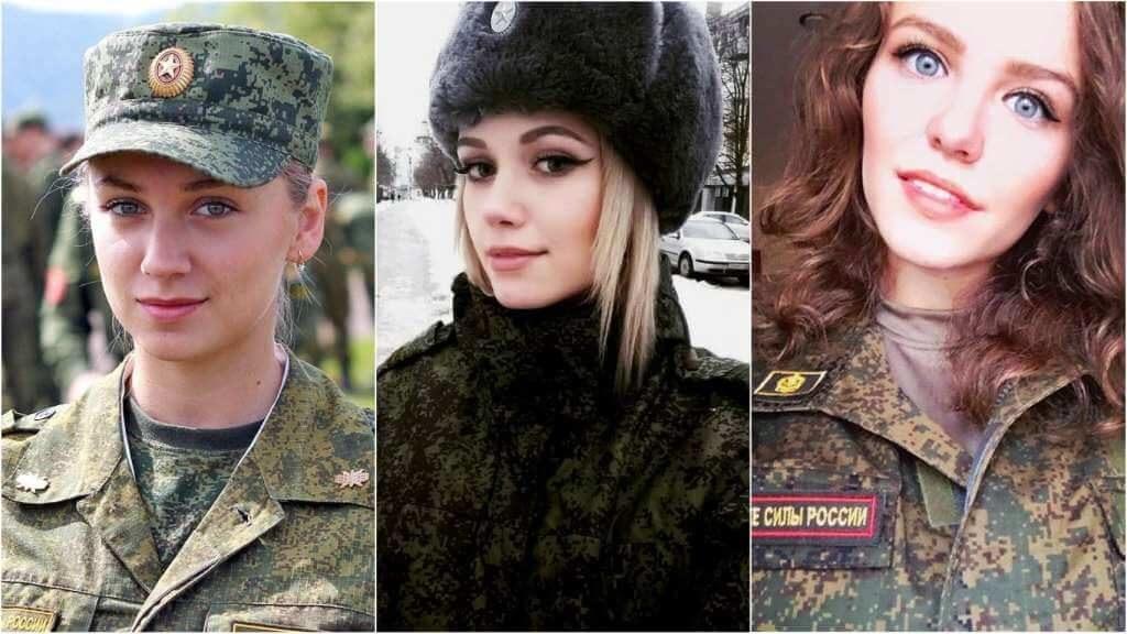 На фото девушки в армии (часть 3).