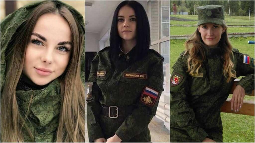 На фото девушки в армии (часть 2).