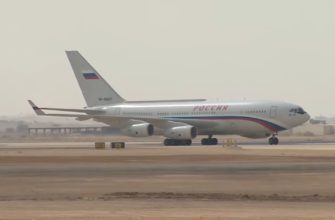 Самолет Владимира Путина