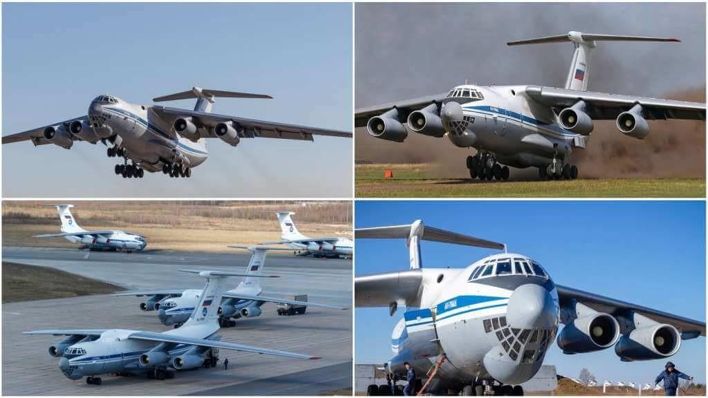 На фото Ил-76.