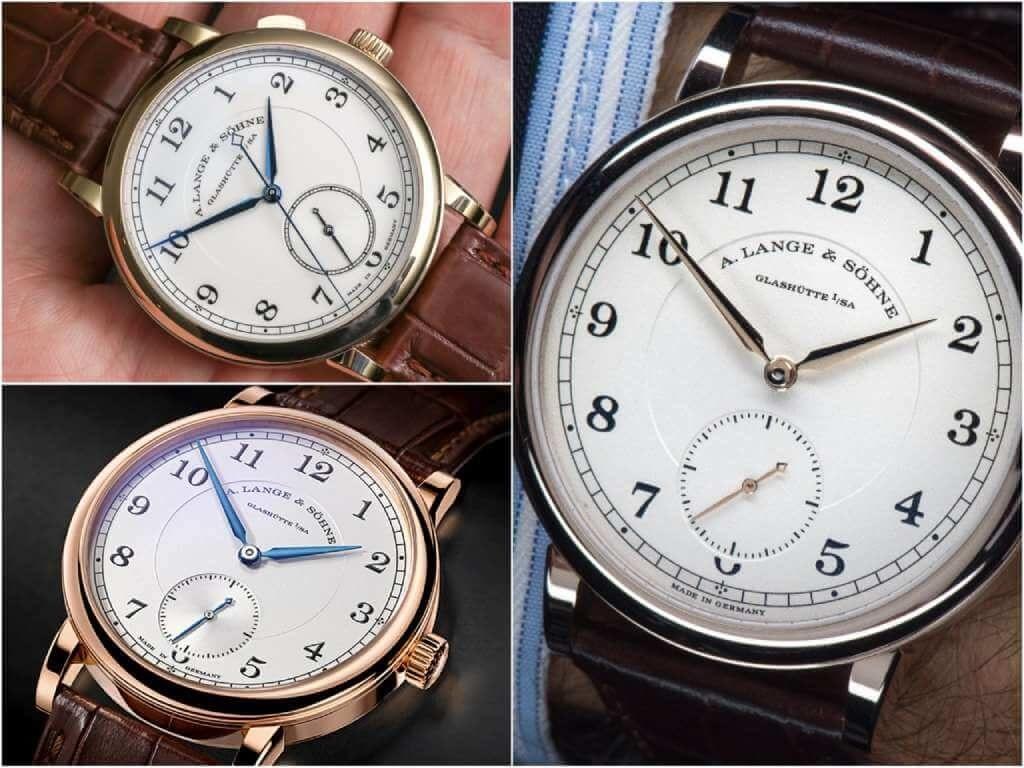 На фото часы Путина A. Lange & Sohne 1815.