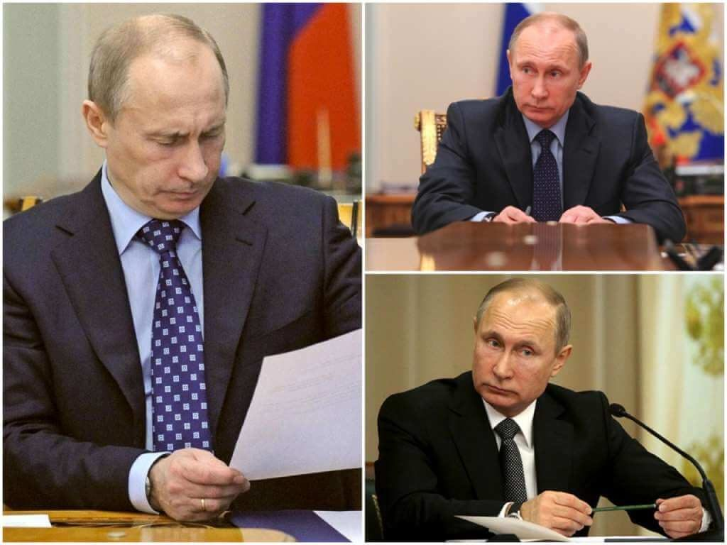 На фото Владимир Владимирович Путин (часть 2).