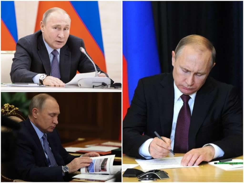 На фото Владимир Владимирович Путин (часть 3).