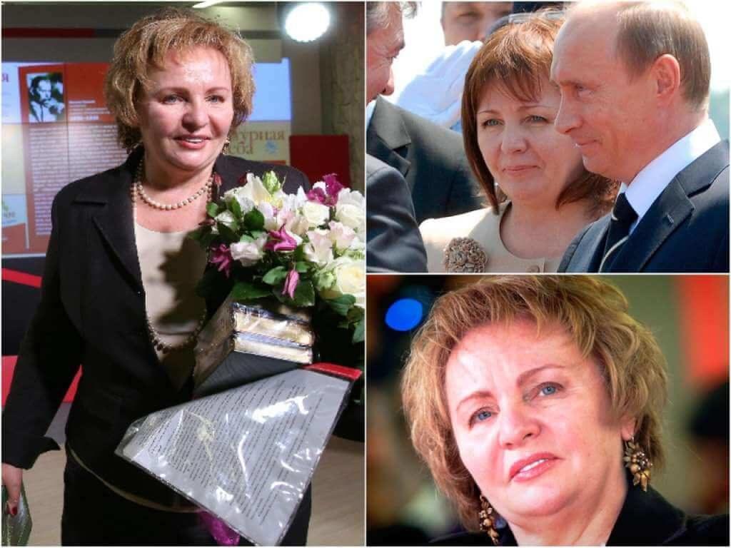 На фото бывшая жена Владимира Путина (часть 2).