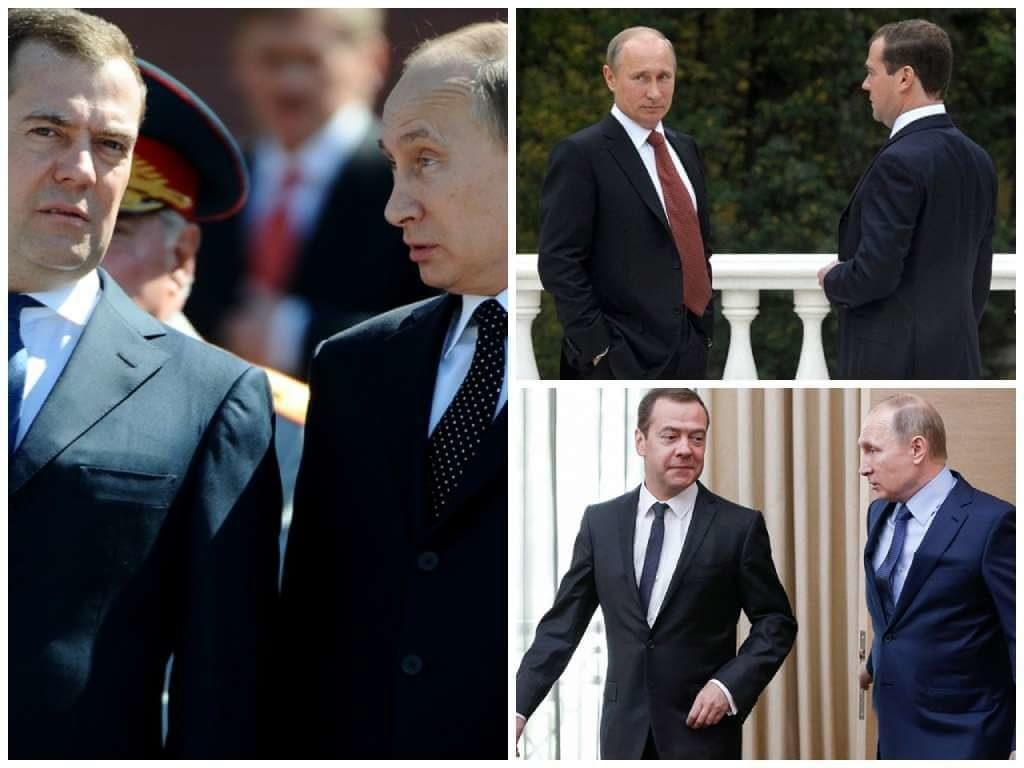 На фото Путин и Медведев (часть 3).