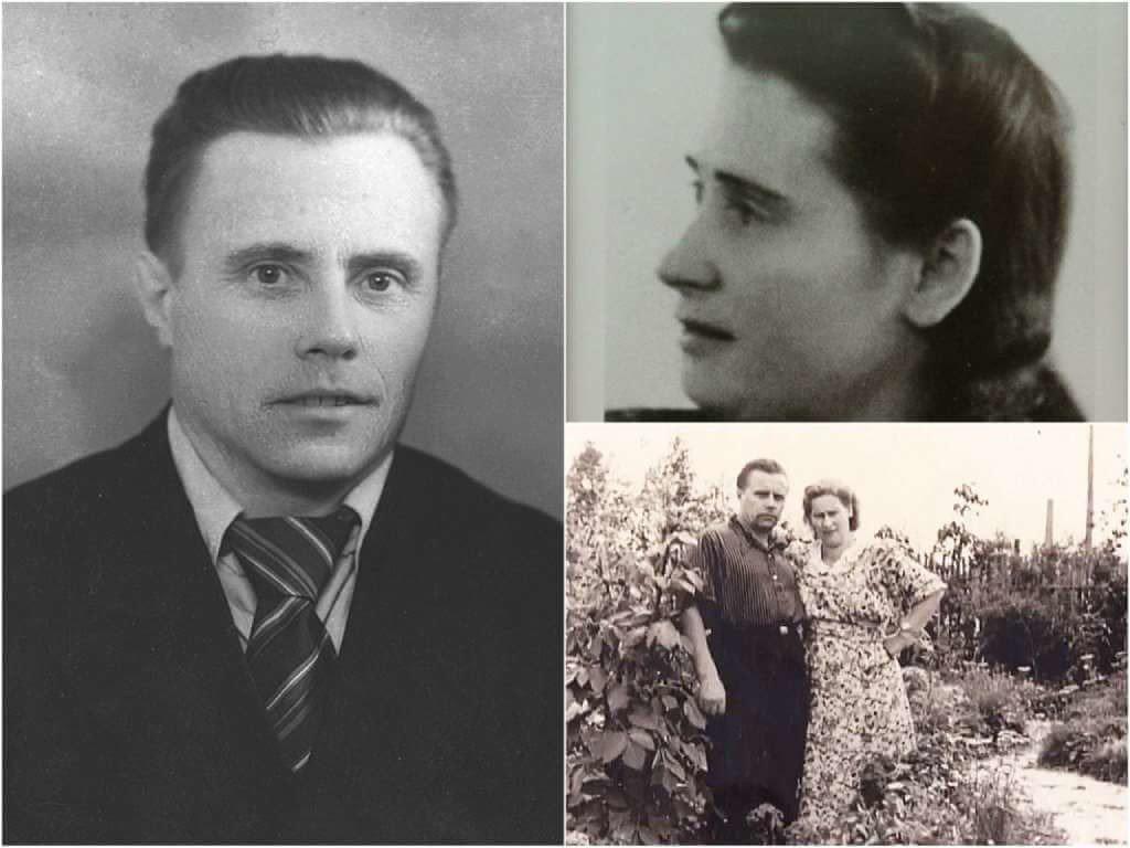 На фото родители Путина.