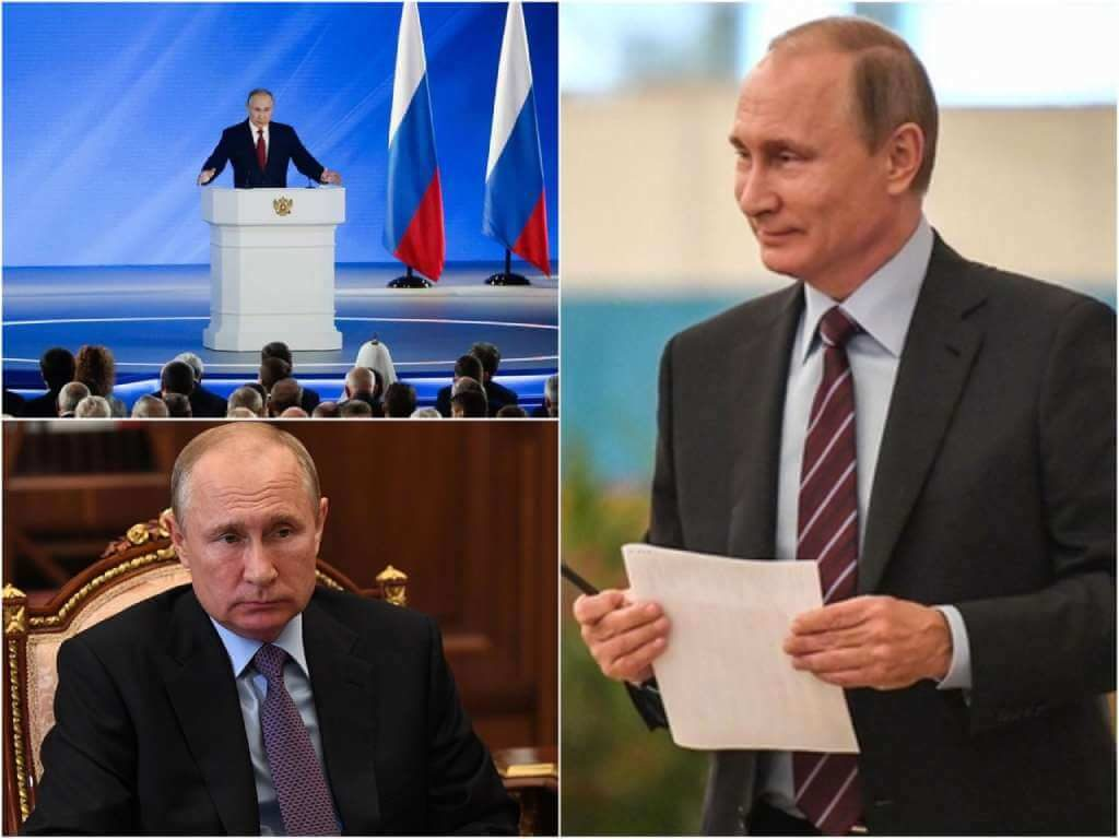 На фото Владимир Путин (часть 2).