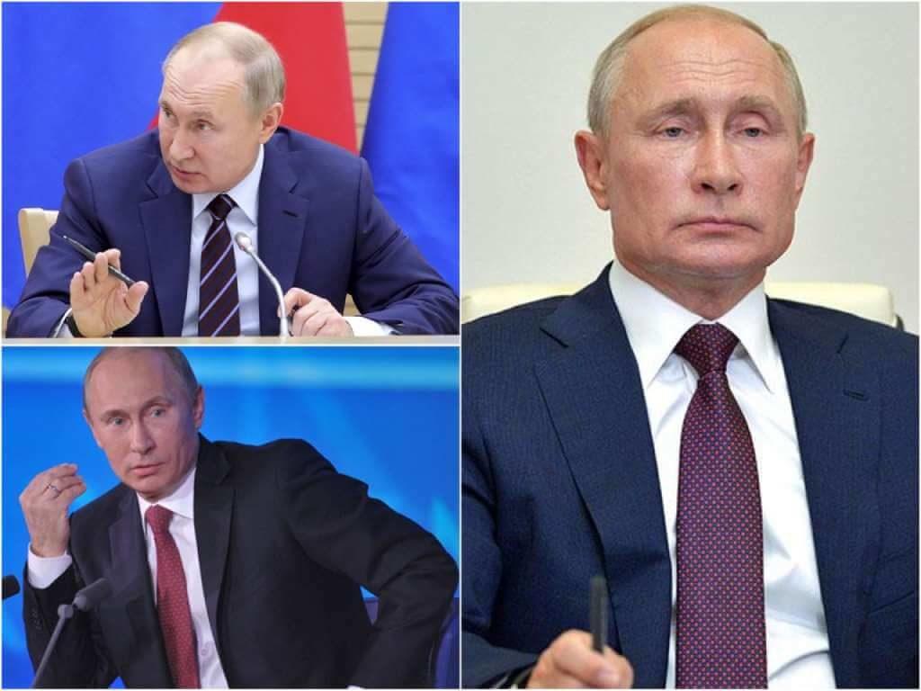 На фото Владимир Путин (часть 5).