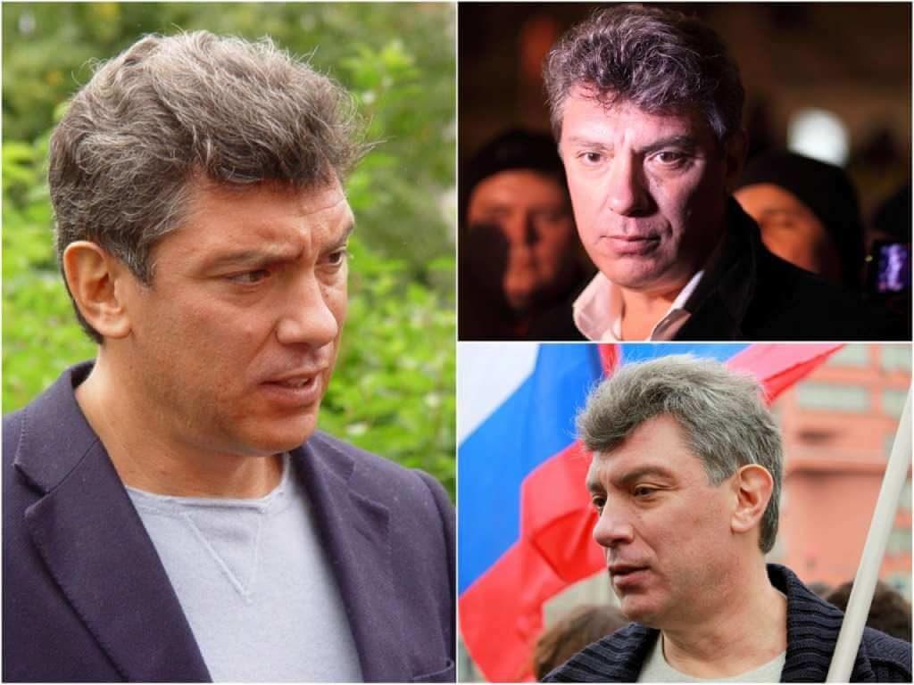 На фото Борис Немцов.