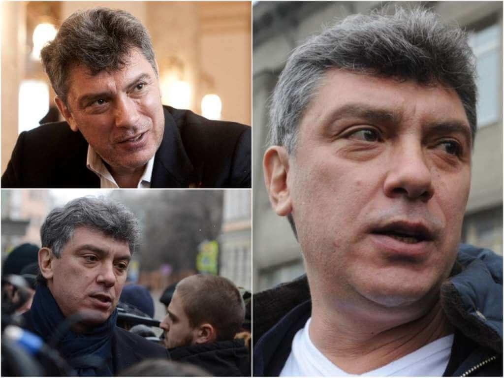 На фото изображен Борис Немцов.