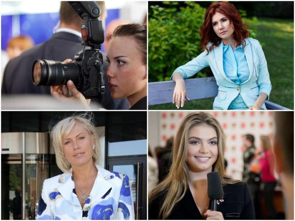 На фото Лапикова Яна, Анна Чапман, Наталья Рагозина и Алина Кабаева.