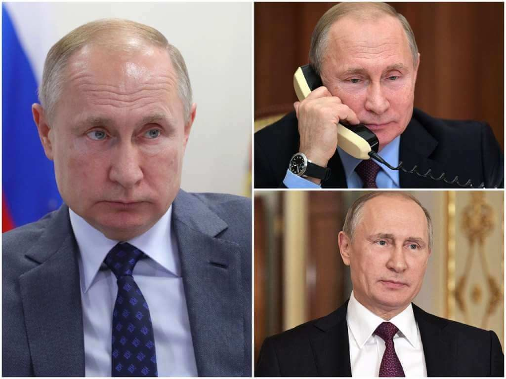 На фото Владимир Владимирович Путин (часть 1).