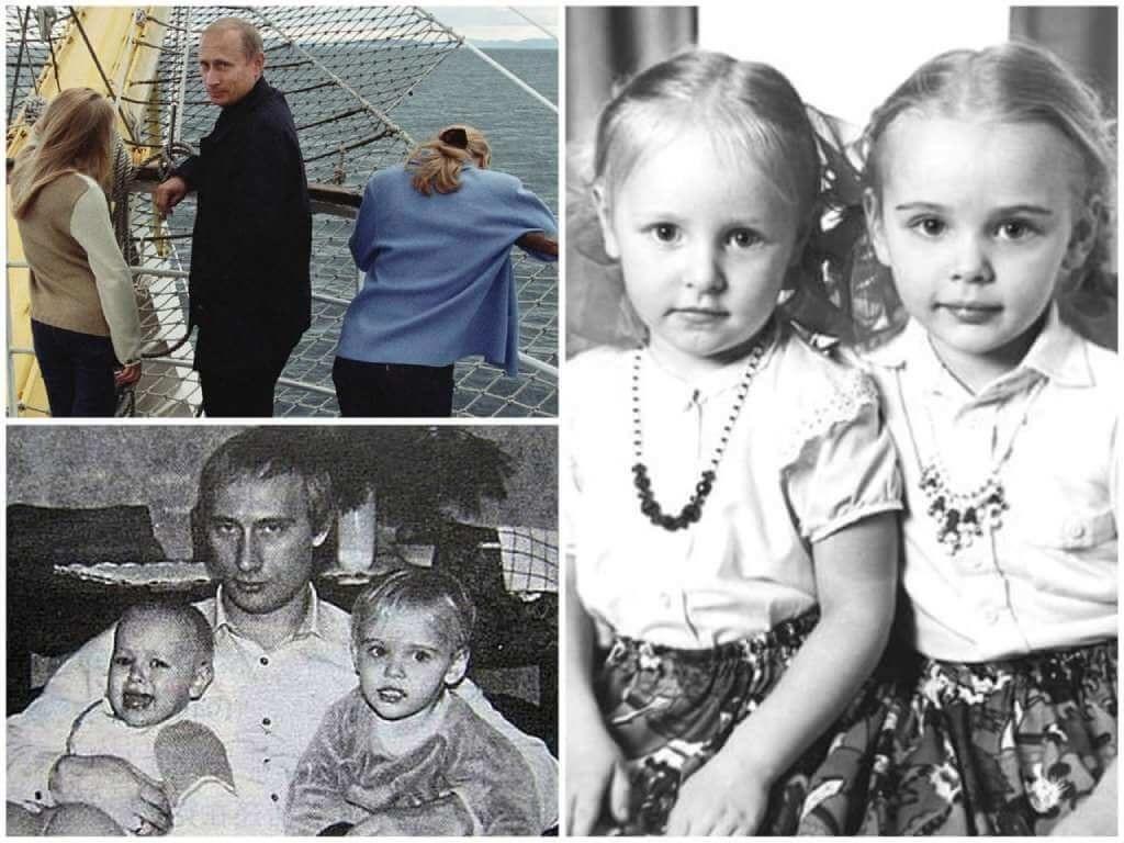 На фото дочери Путина.
