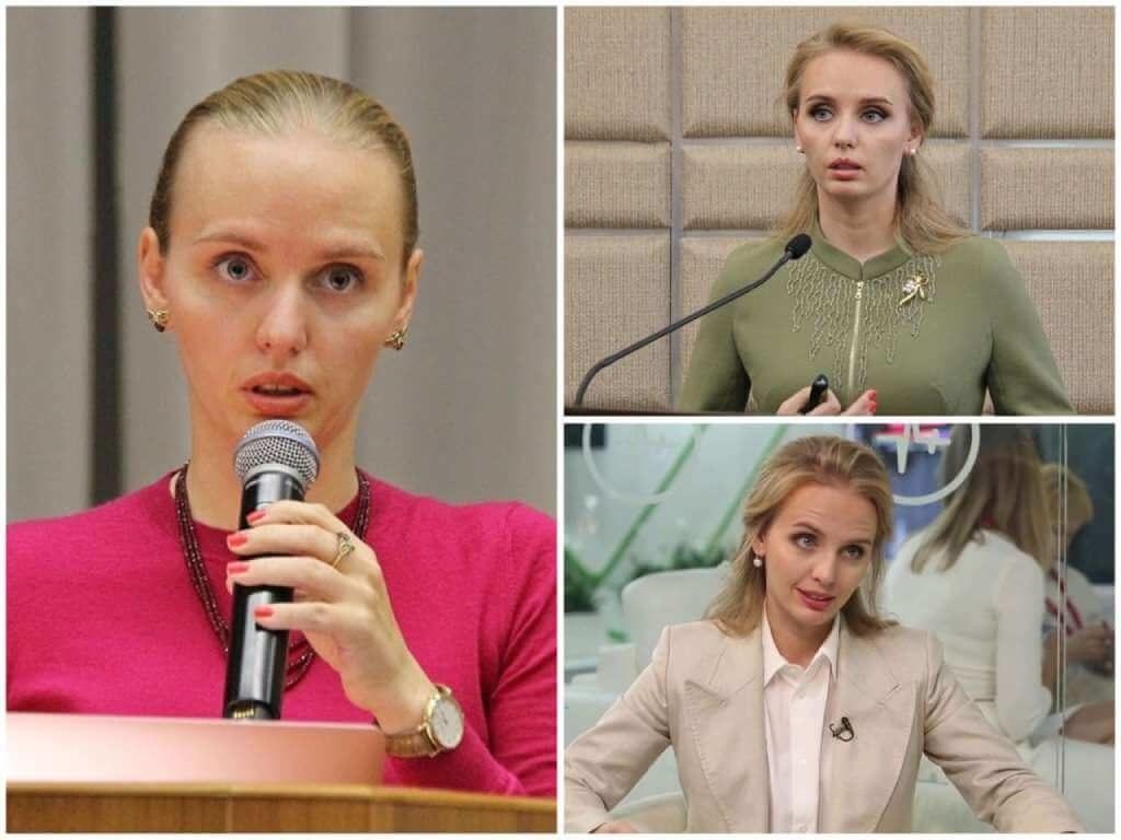 На фото Мария Воронцова (старшая дочь Путина).