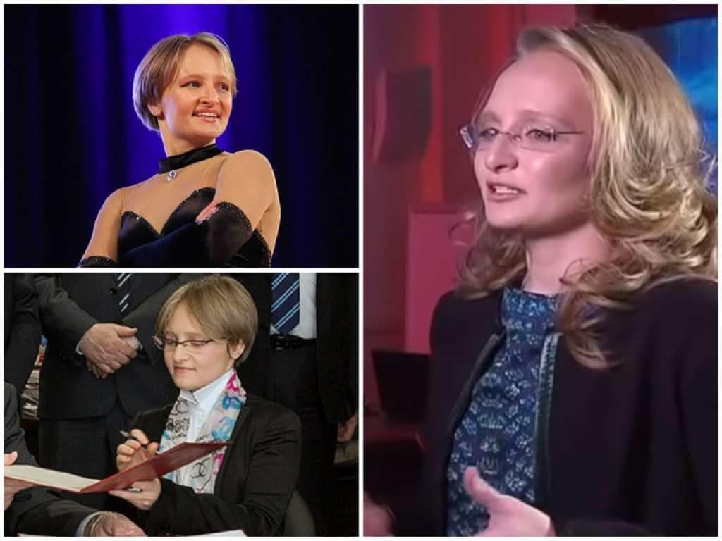 На фото Екатерина Тихонова (дочь Путина).