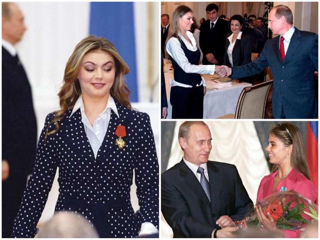 На фото Путин и Кабаева.