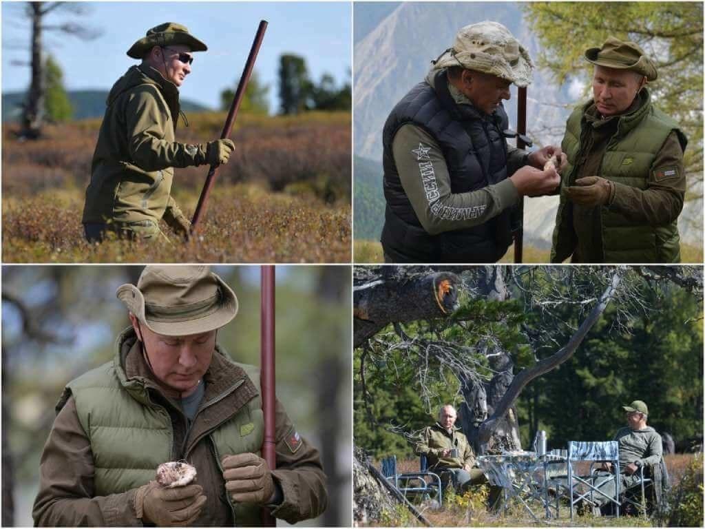 На фото Путинг отдыхает в 2019-ом году (Сибирь).
