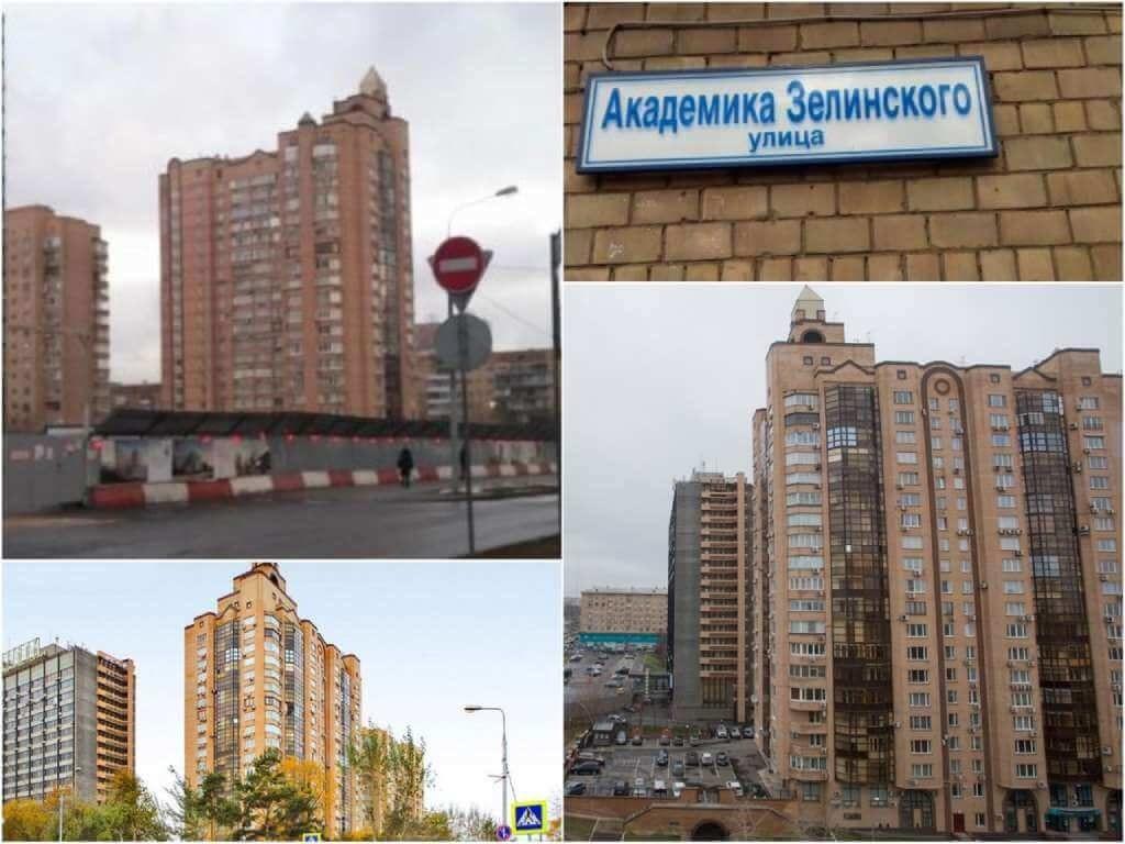 На фото дом в Москве №6 по улице Академика Зелинского.