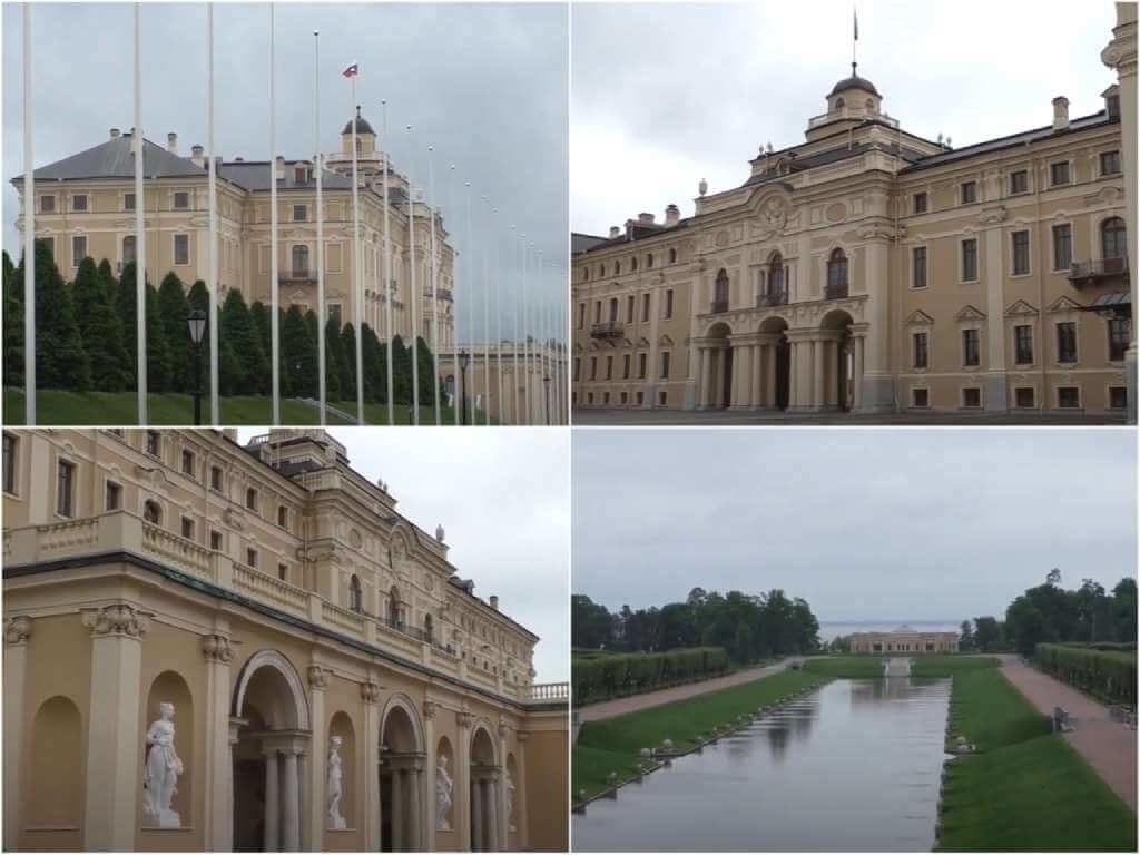 На фото Константиновский дворец.