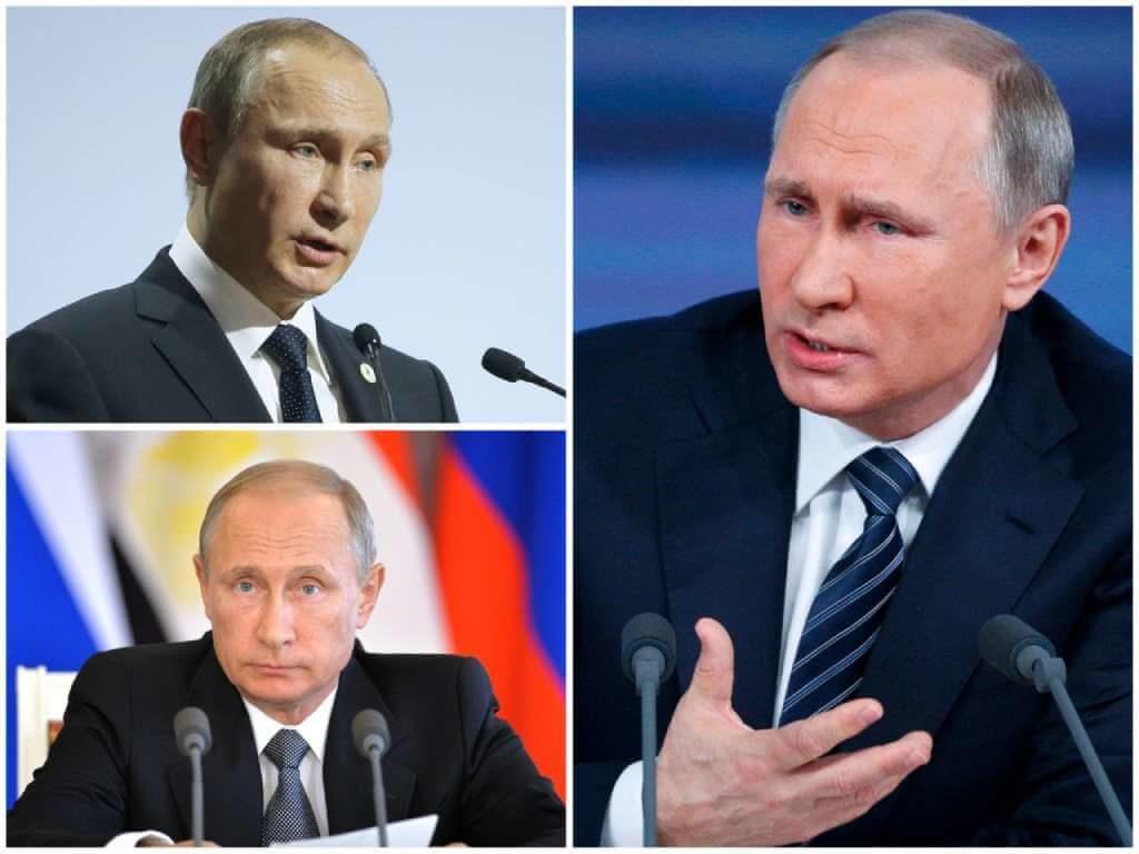 На фото Владимир Путин (2015 год).