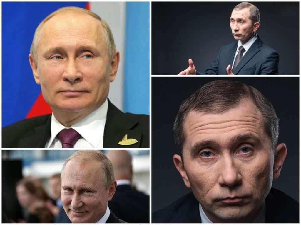 На фото изображен Владимир Путин (слева) и Дмитрий Грачев (справа).