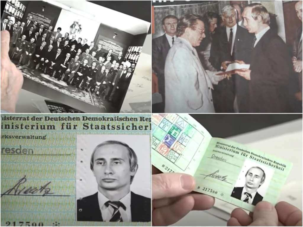 На фото изображен Путин.