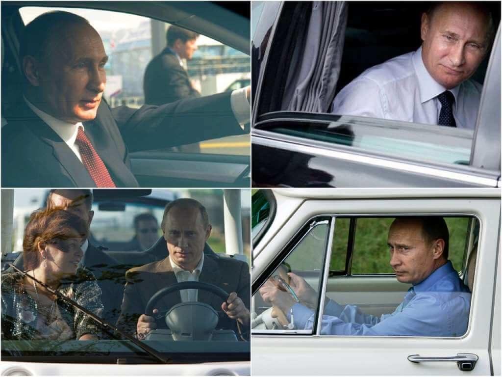 На фото Владимир Владимирович Путин.