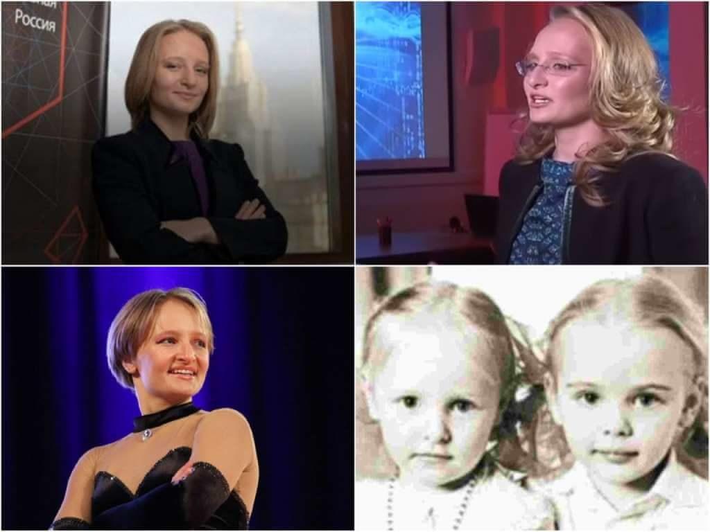 На фото Екатерина (младшая дочь Путина).