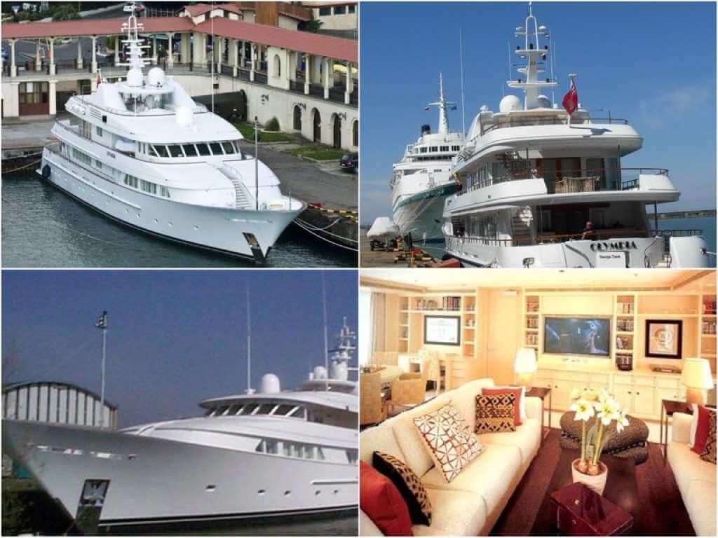 На фото яхта «Олимпия».